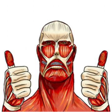 LINEマンガ:進撃の巨人 – 公式スタンプ【コミック購入でスタンプ無料】