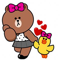 【無料】チョコ&サリーのハッピーライフ【LINEスタンプ】