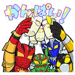 【無料】飛び出す!EXILE TRIBEスタンプ【LINEスタンプ】