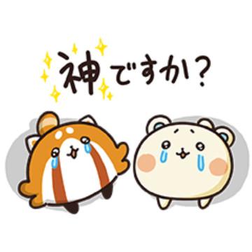 【無料】しろたさんとれさ丸7【赤ちゃん編】【LINEスタンプ】