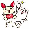 【無料】ぷるくまさん×けんけつちゃん【LINEスタンプ】