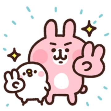 【無料】カナヘイのピスケ&うさぎ【LINEスタンプ】