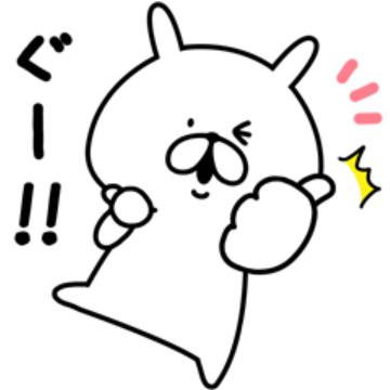 【無料】ゆるうさぎ×パンドラ コラボスタンプ【LINEスタンプ】