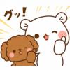 【無料】毒舌あざらし&ゲスくま×ワンケルくん【LINEスタンプ】
