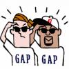 【無料】GAP×JERRY☆コラボスタンプ【LINEスタンプ】