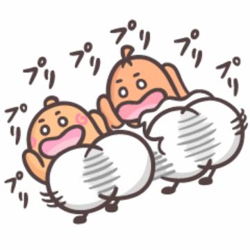 【無料】ソップリンのぷりっ♪ぷりっ♪スタンプ【LINEスタンプ】