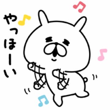 【無料】ゆるうさぎ【LINEスタンプ】