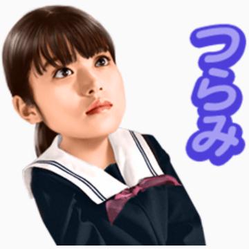 【無料】「koToro_」主演:今田美桜【LINEスタンプ】