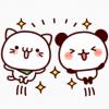 【無料】気持ち色々パンダ×べるーにゃ【LINEスタンプ】