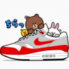 【無料】NIKE☆BROWN&FRIENDS【LINEスタンプ】