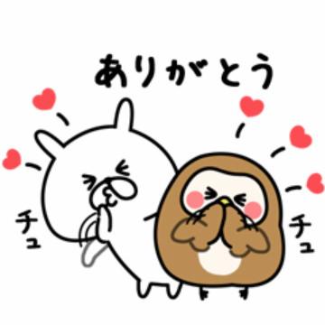 【無料】ゆるうさぎ×フク子さん&こふく【LINEスタンプ】