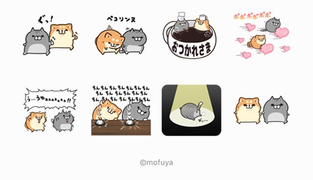 【無料】ボンレス犬&猫×ライブドアニュース【LINEスタンプ】
