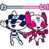 【無料】ミライトワ&ソメイティ 公式スタンプ【LINEスタンプ】