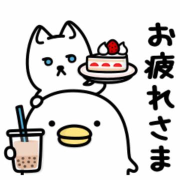 【無料】うるせぇトリ×ドアふみ【LINEスタンプ】