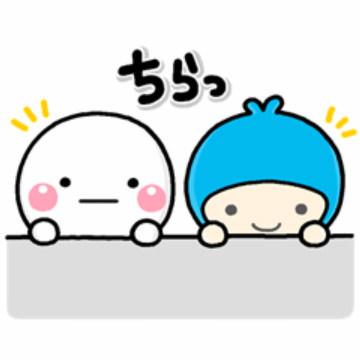 【無料】しろまる×明治安田生命やさしいスタンプ2【LINEスタンプ】