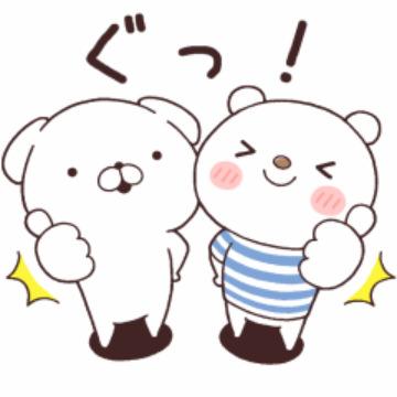 【無料】いぬまっしぐら×ニトリのシロクマ【LINEスタンプ】