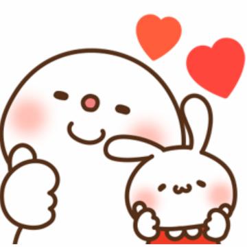 【無料】ミミちゃん×饅頭とだいふくコラボスタンプ【LINEスタンプ】