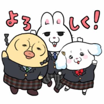 【無料】モフ缶 新学期に使える編【LINEスタンプ】