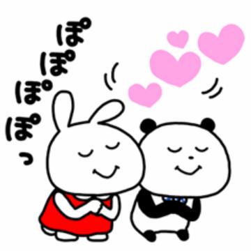 【無料】ミミちゃん×ごきげんぱんだ【LINEスタンプ】