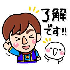 【無料】動く!しろまる×Jくん&ユメット【LINEスタンプ】