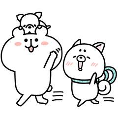 【無料】ゆるくま×プロたん&サリー【LINEスタンプ】