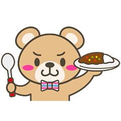 【無料】チェッくま★トヨタホーム【LINEスタンプ】