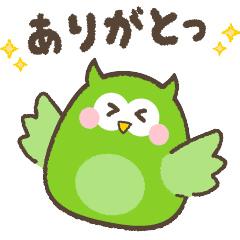 【無料】ぽぽろうとスキマ時間を豊かに★【LINEスタンプ】