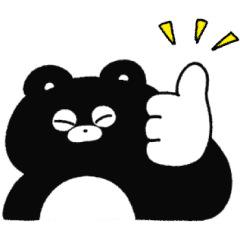 【無料】くまのまーくん × LINEスコア【LINEスタンプ】