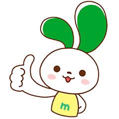 【無料】マイぴょん【マイネオ公式キャラクター】【LINEスタンプ】