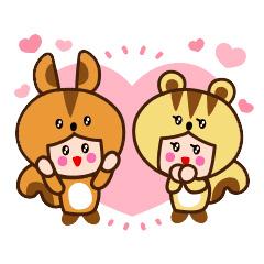 【無料】リック&スー【LINEスタンプ】