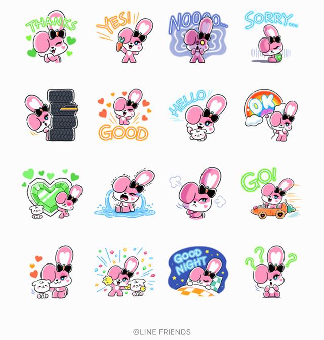 【無料】CHICHI: created by JISOO【LINEスタンプ】