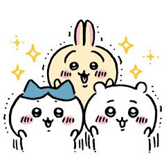 【無料】ちいかわ × LINEバイト【LINEスタンプ】