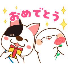 【無料】家族と使おう☆毒舌あざらし×進研ゼミ【LINEスタンプ】