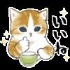 【無料】にゃんこスイーツ! × lacore【LINEスタンプ】