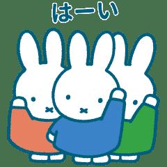 【無料】Pinkoi × miffy【LINEスタンプ】