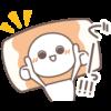 【無料】ねりものさん第2弾!チーちくさん新登場【LINEスタンプ】