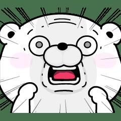 【無料】うさぎ&くま100%×LINEスキマニ【LINEスタンプ】